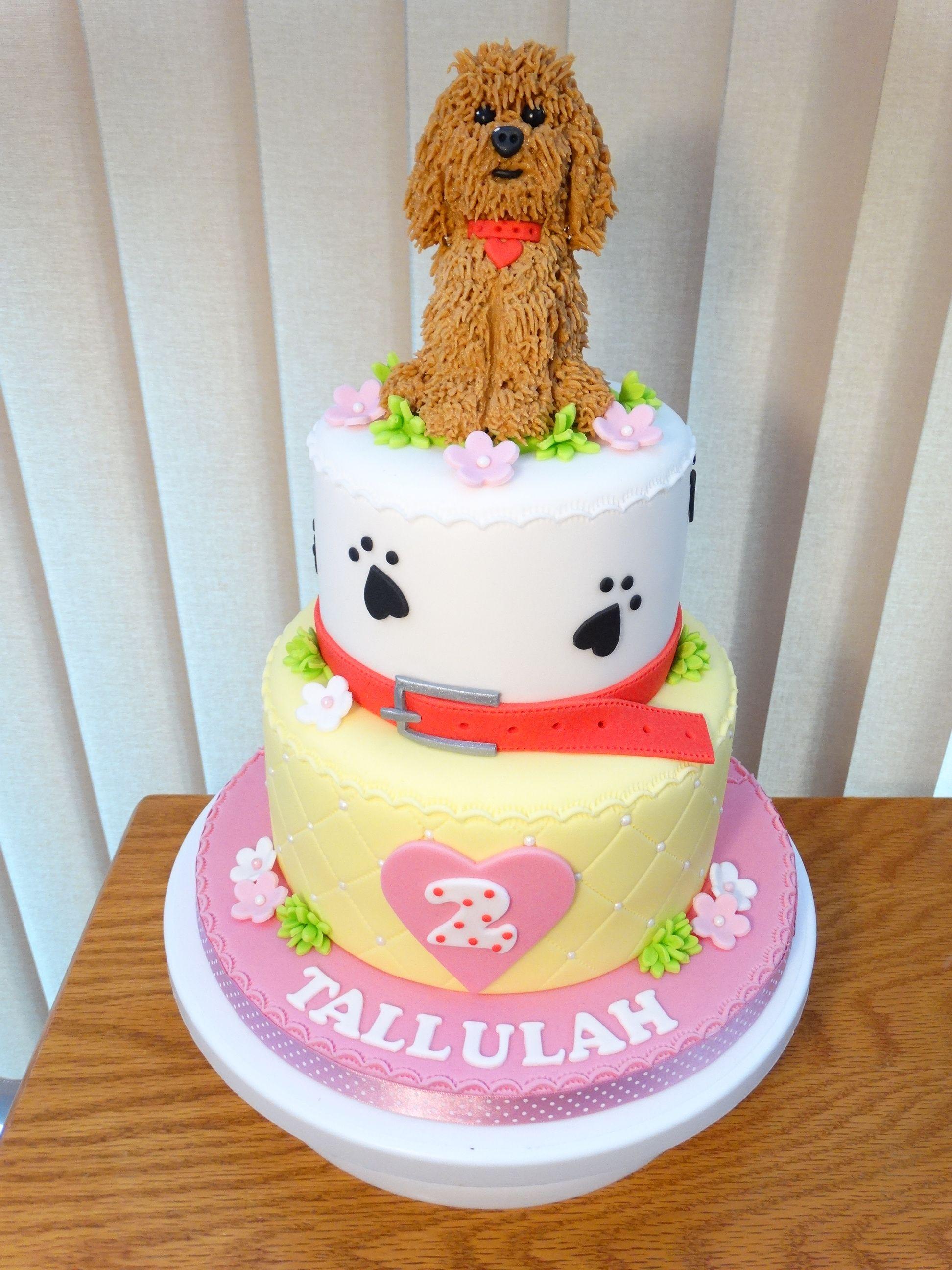 Fine Waffle Wonder Dog Cake Xmcx Dog Cakes Kids Cake Toppers Dog Funny Birthday Cards Online Sheoxdamsfinfo