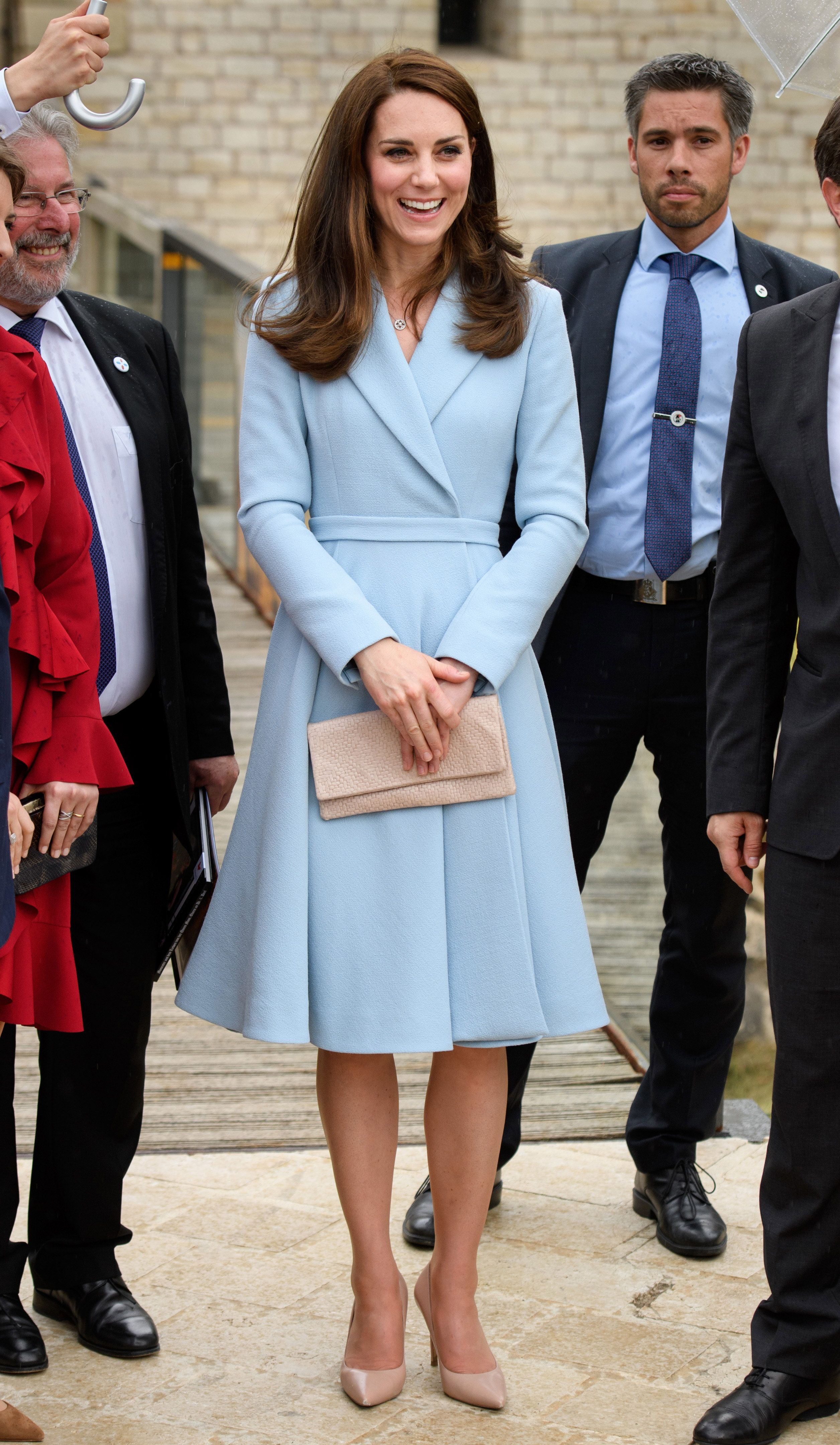 Kate Middleton Is Looking Mint In A Mint Green Jenny Packham Coat