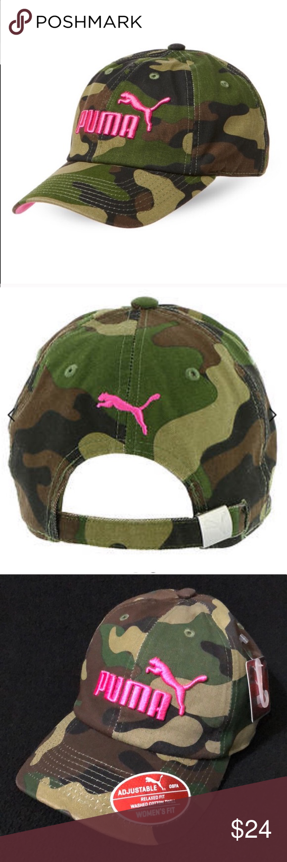 a5f69139eff Puma Camo Cap NWT This classic Puma Cap is a great way to finish your