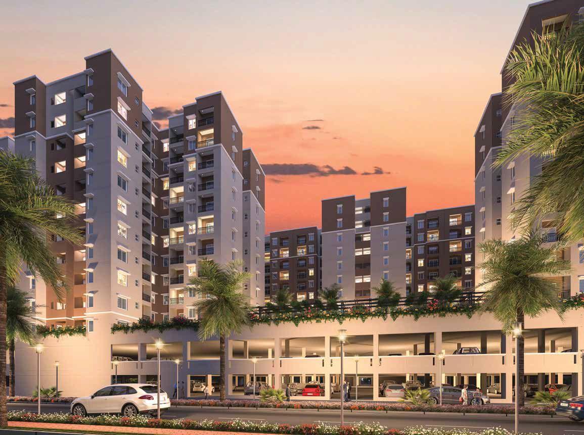Provident Capella, Whitefield Bangalore Size570 SQFT