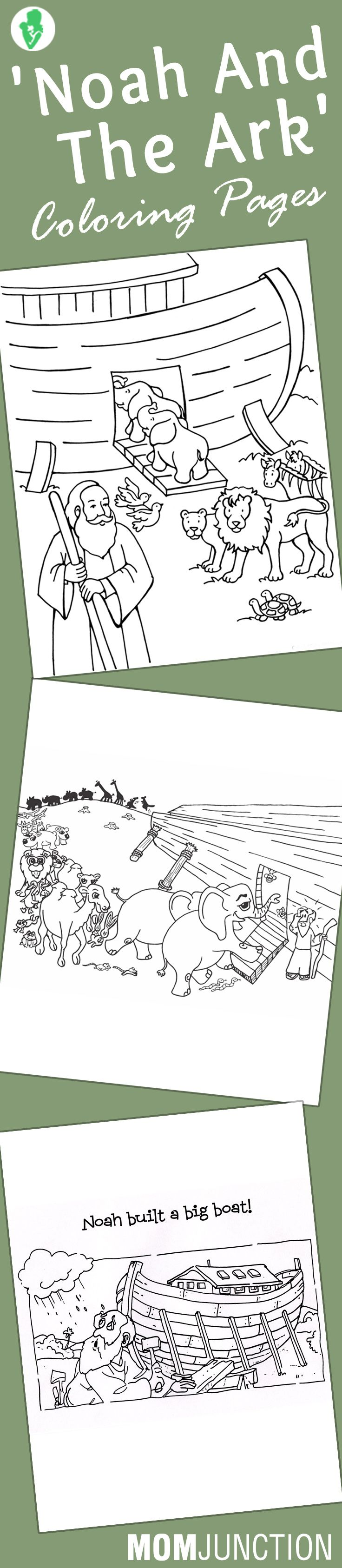 Top 10 39 Noah And The Ark 39 Coloring
