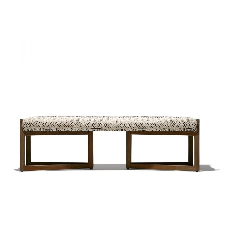 industry west mateo bench chaises and benches bench bedroom rh pinterest com