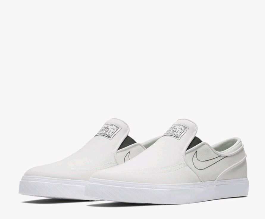 9d85f00eabed Nike Men s SB Zoom Stefan Janoski Slip-On Canvas Athletic Snickers Shoes Sz  US 9  Canvas  SkateShoes