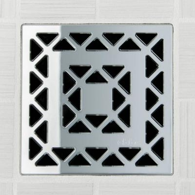 Easy Tile In Square Shower Drains Lattice Drain Cover In Oil