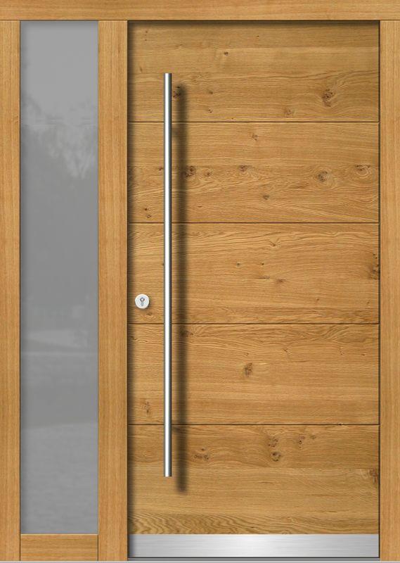 Wood entrance doors MODERN, model overview