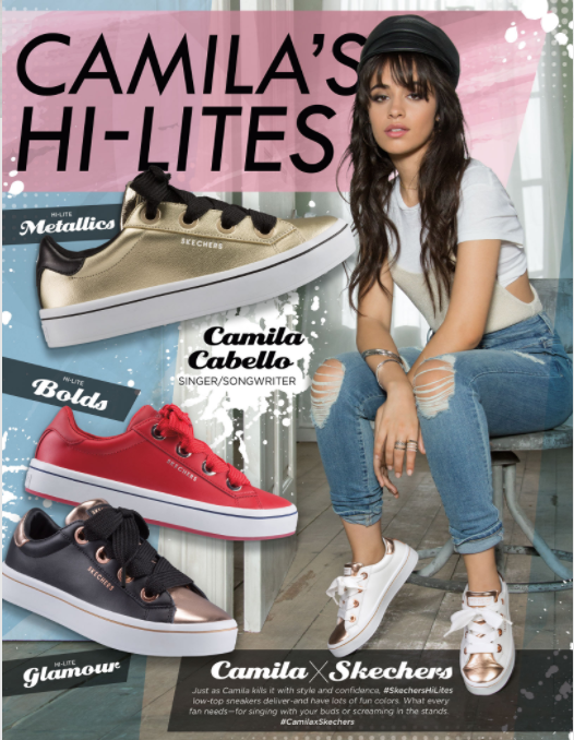 Camila Cabello for Skechers 2018. #CamilaXSkechers