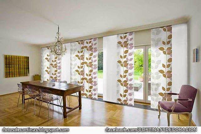Paneles japoneses fotos de cortinas decoraci n con cortinas fotos y videos cortinas y - Decoracion con paneles ...