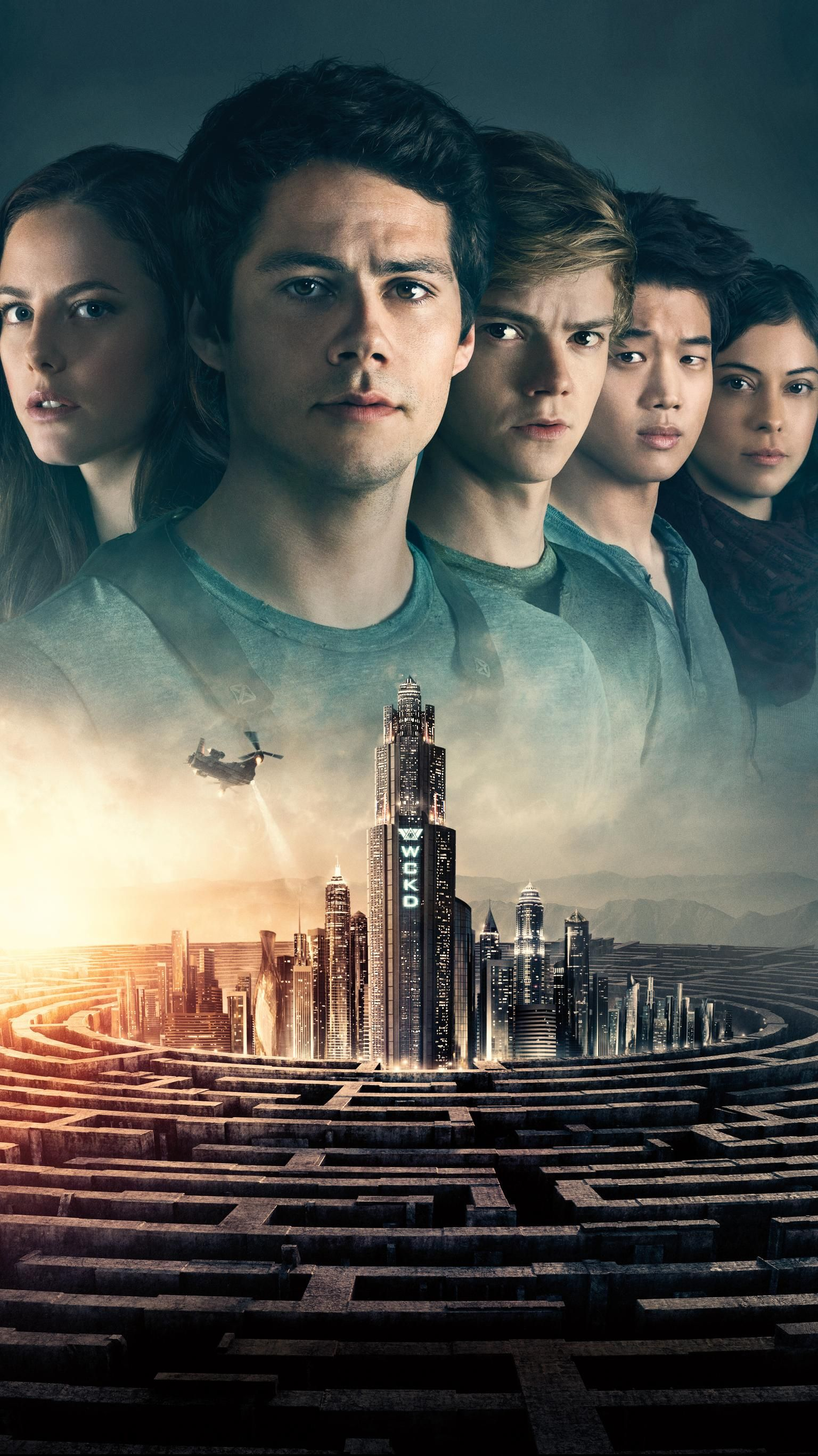 Maze Runner: The Death Cure (2018) Phone Wallpaper | Moviemania