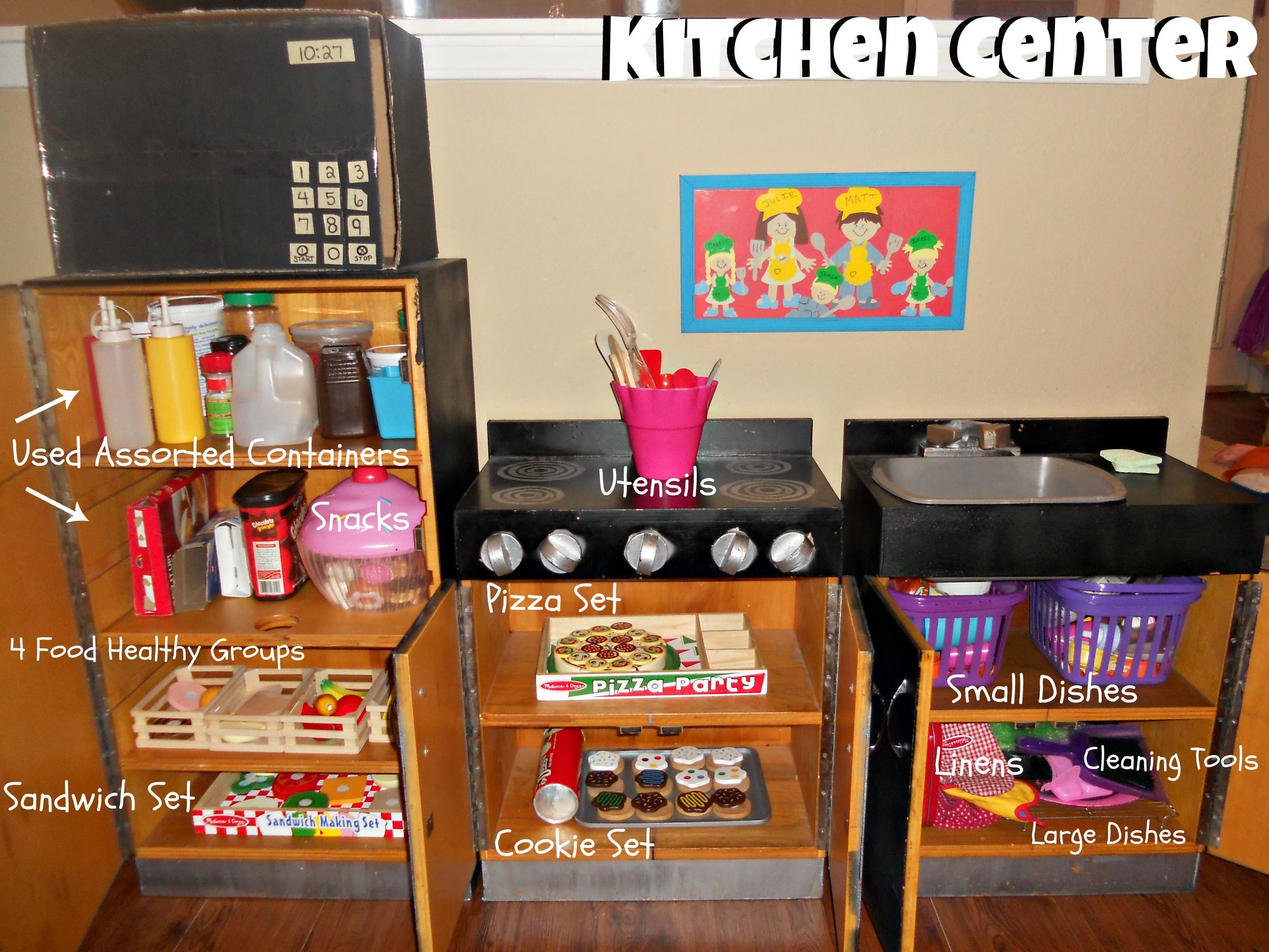Toys For Day Care Centers : Organizing kids toys into centers for my kiddos