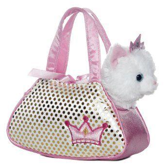 57f8ee5fabf2 Amazon.com: Aurora World Princess Kitty Fancy Pals Pet Carrier: Toys ...
