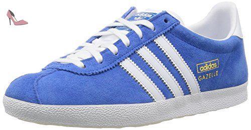 b07b62b972e3a adidas Originals Gazelle Originals, Baskets pour femme Noir Noir/blanc TOP  - Bleu -