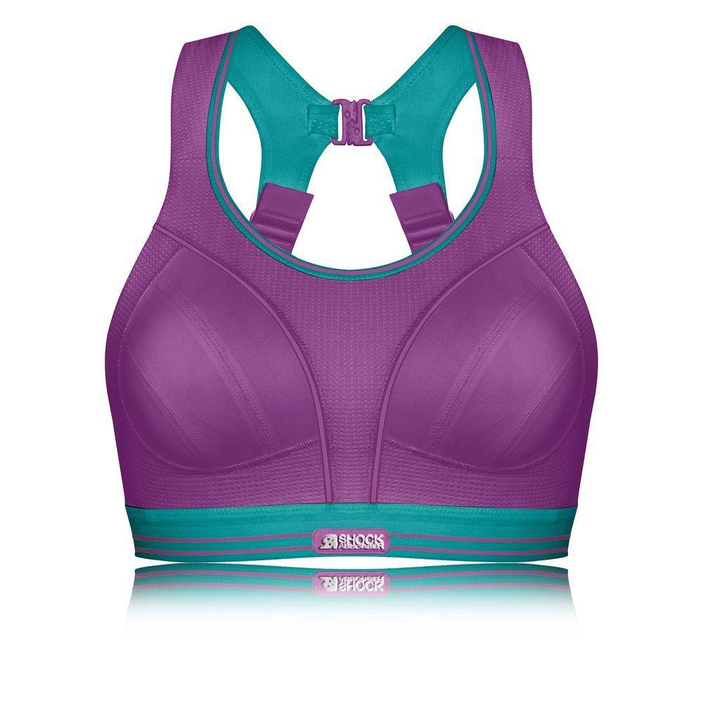 Shock Absorber Ultimate Run Femme Violet Sans Couture Sport Brassière  Support  Sport  Running  Brassière c85b7863650
