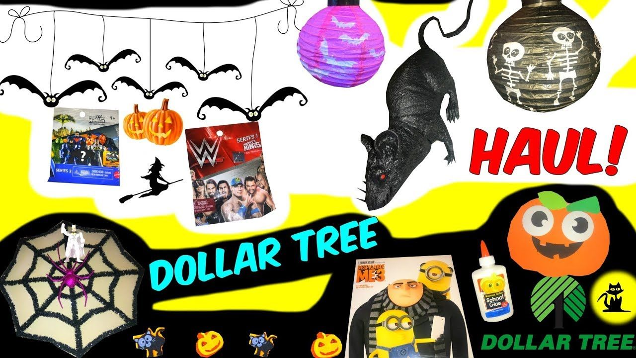 Whats Inside My Dollar Tree Bag Halloween Decorations Squishy Talking Dollaretree Haul Pumpkin Youtube Blindbags Dollartreehaul