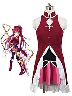 Cosplay Costume Puella Magi Madoka Magica Sakura Kyoko