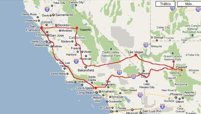 Mapa Eeuu Costa Oeste.Resultado De Imagen Para Costa Oeste De Estados Unidos En