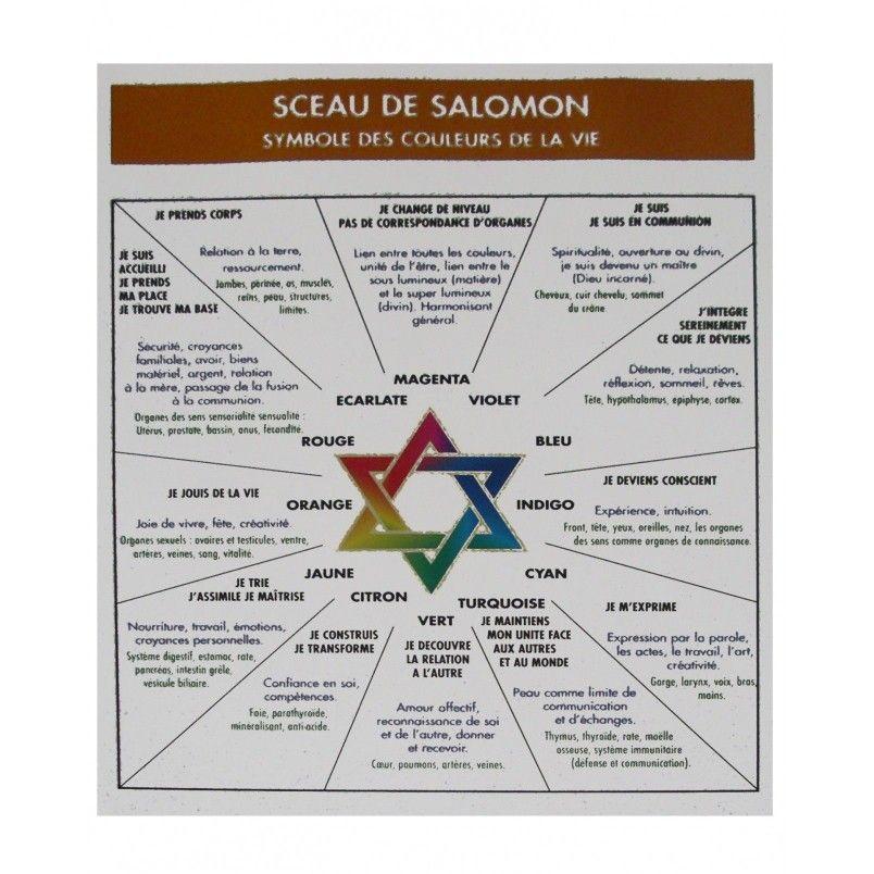 Epingle Par Thomas Sur Spiritualite Sceau De Salomon Salomon Sceau