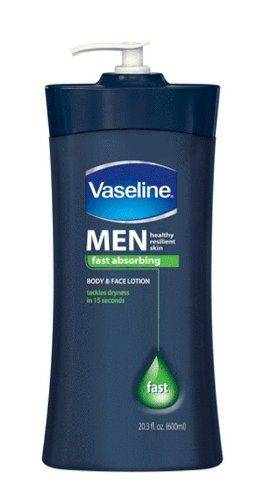 Vaseline Men Body And Face Lotion 20 3 Ounce Bottle Pack Of 3
