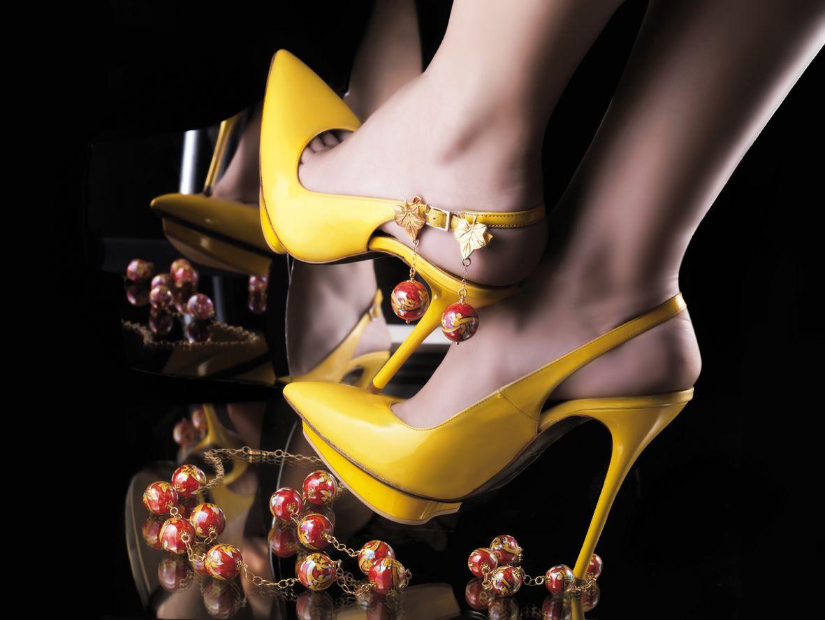 Le Perle di Caltagirone Gioielli in argento dorato  e perle di ceramica realizzate a mano Golden silver and handmade ceramic pearls  www.leperledicaltagirone.com