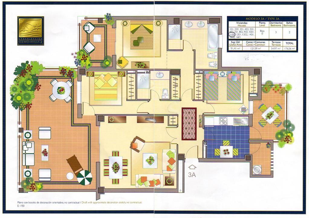 Dise o de terrazas plano buscar con google planos for Planos arquitectonicos de casas