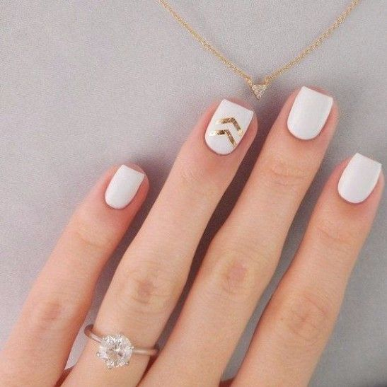 28 Simple And Easy White Nail Designs You May Love Pinterest