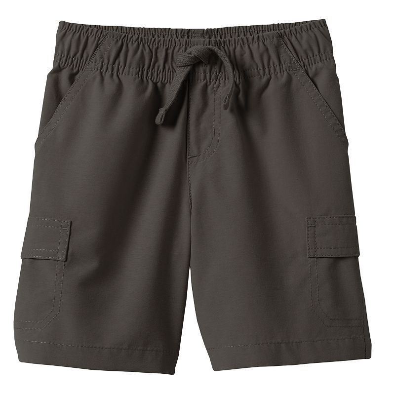 Jumping Beans® Solid Cargo Shorts - Toddler Boy, Size: 2T, Dark Grey
