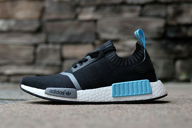 outlet store e964c b986f 2018 Really Cheap Adidas original NMD Runner Core Black Hyper Jade White  Shoe