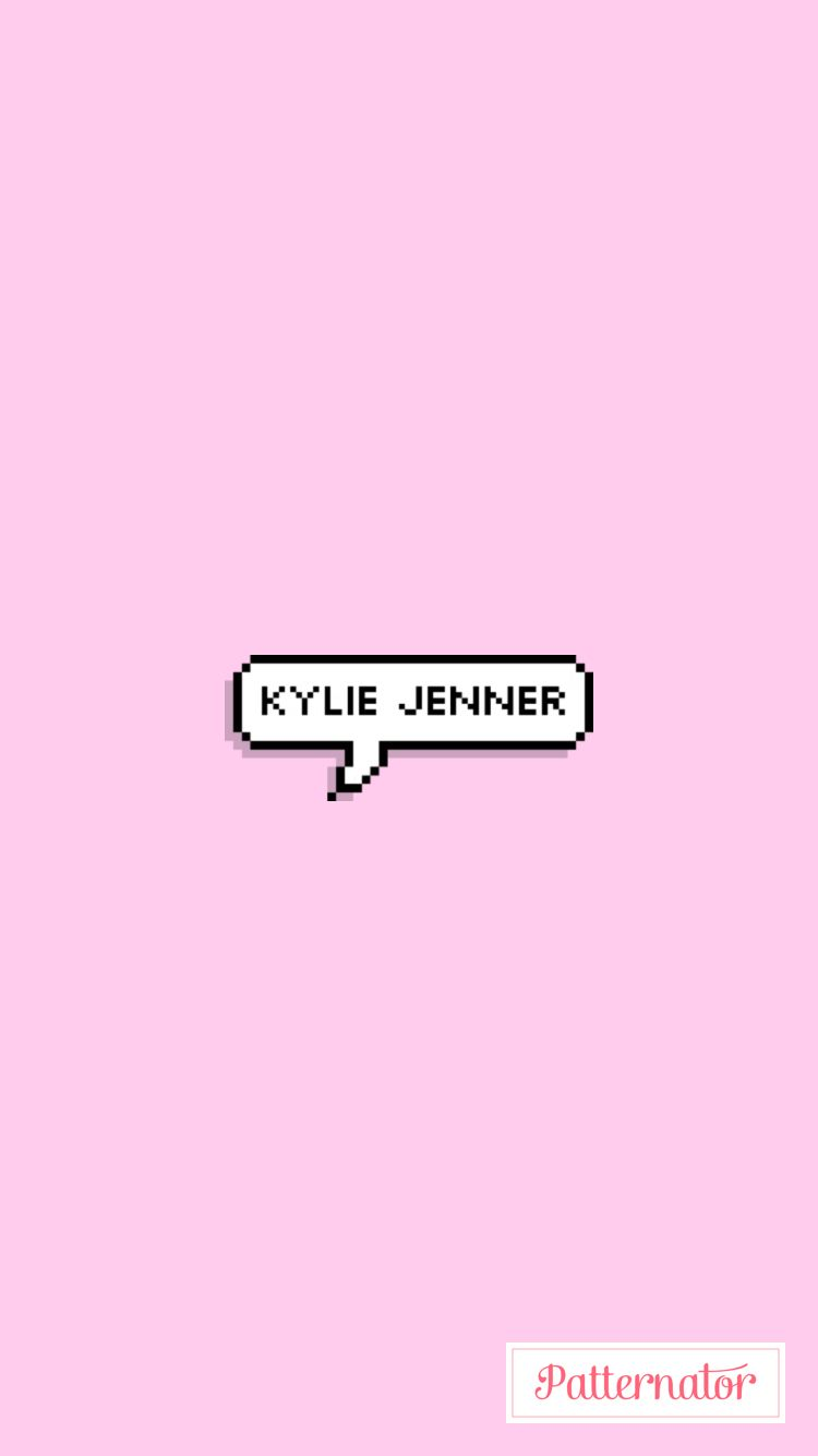Wallpaper iphone kylie -  Kylie Jenner Kyliejenner Pink Wallpaper Iphone Girl Cute