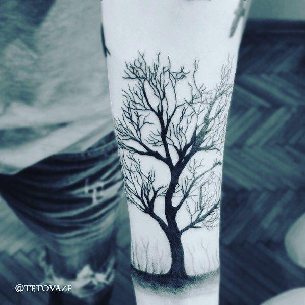 tree tattoo men tattoo filip jelic tattoo portfolio. Black Bedroom Furniture Sets. Home Design Ideas