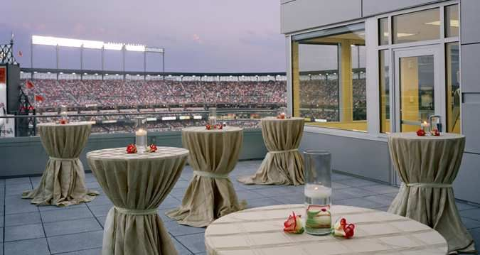 Celebrate While Overlooking A Spectacular View Of Camden Yards At Hilton Baltimore
