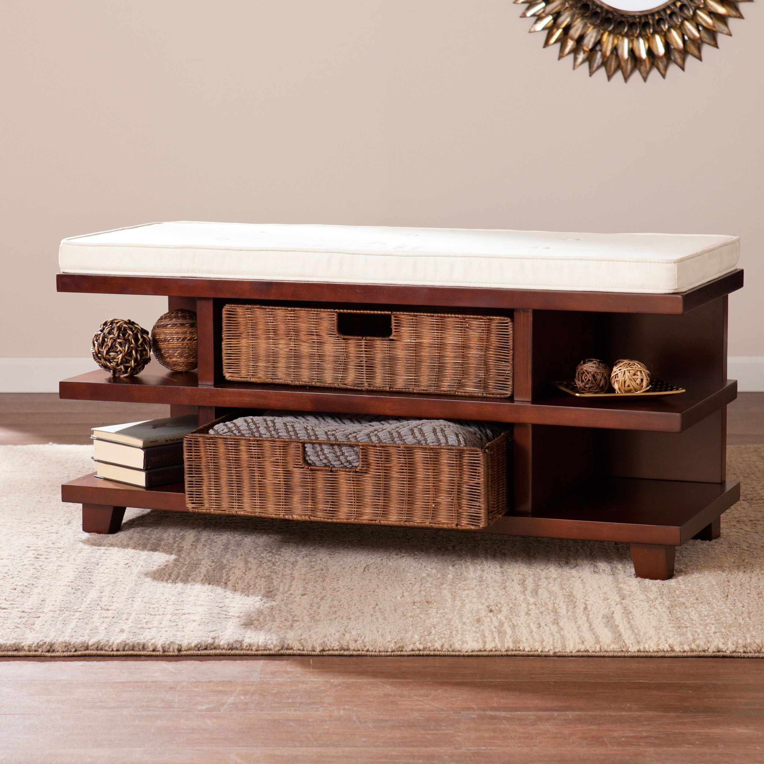 Harper Blvd Alexis Storage Bench | stoly | Pinterest | Muebles ...