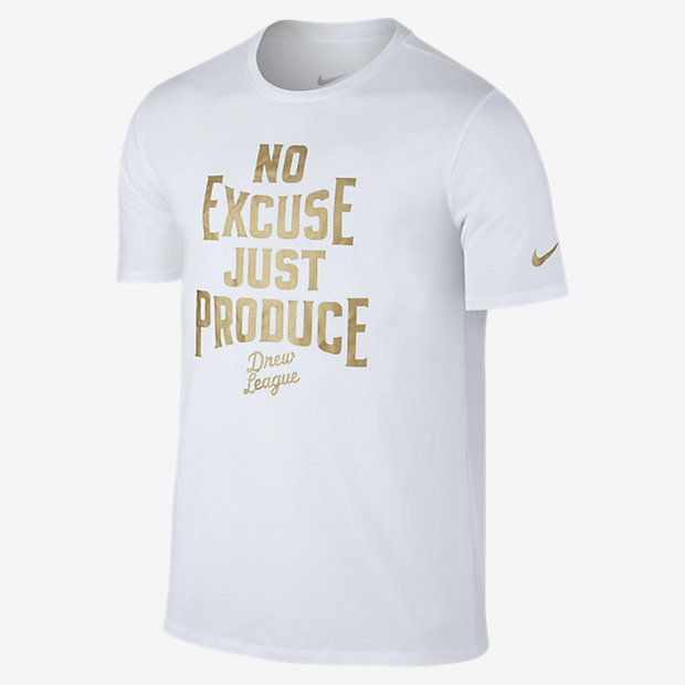 1975e0e4f Nike Dry Drew League Men's T-Shirt   t-shirt designs   Mens tops, T ...