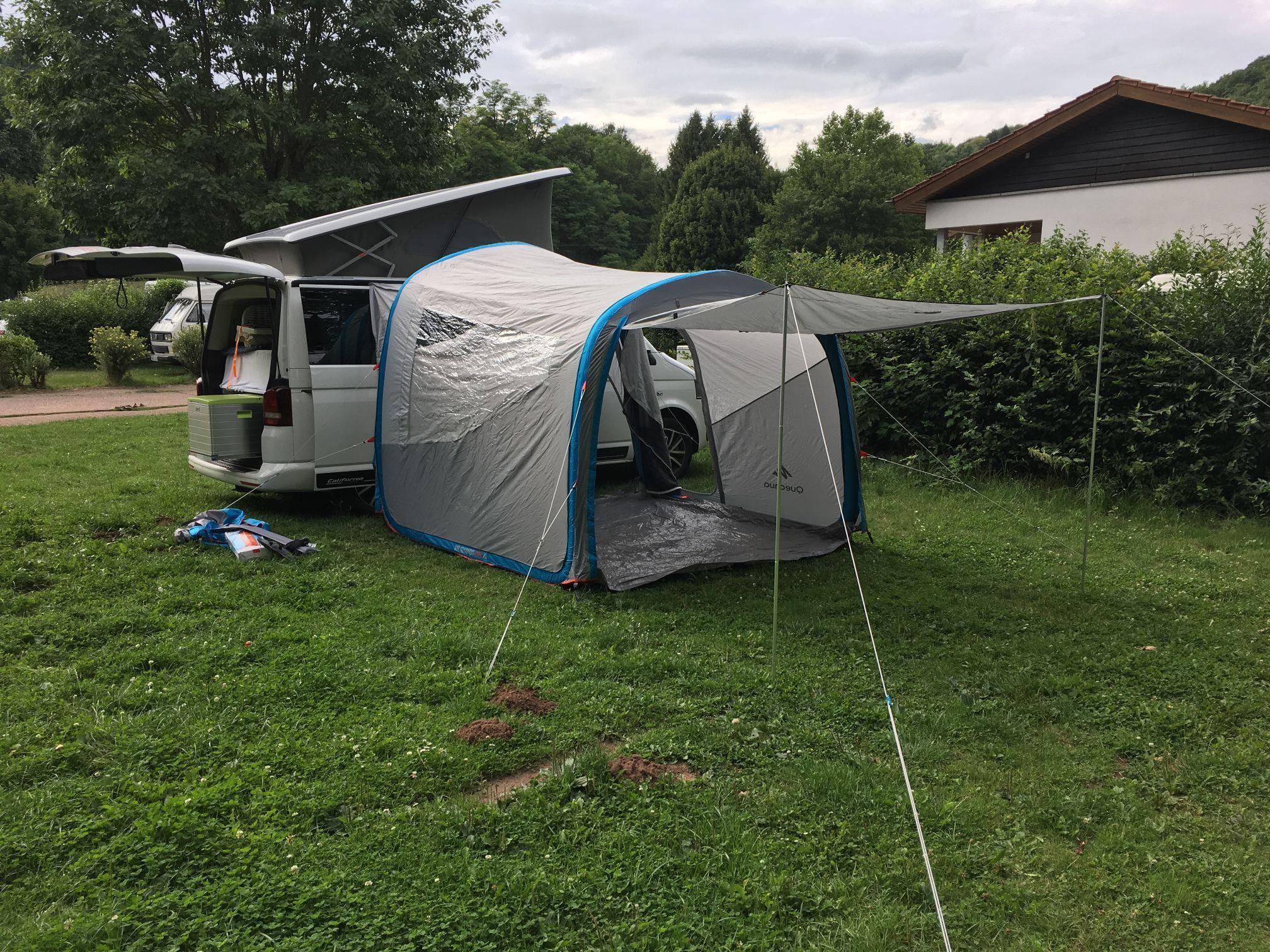 vw t5 vorzelt luft pumpe airbase quechua camper van img. Black Bedroom Furniture Sets. Home Design Ideas
