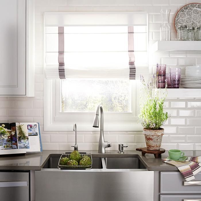 upgrade your kitchen with a stainless steel apron front sink with rh pinterest com