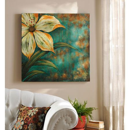 inspire canvas art print flowers pinterest art canvas art and rh pinterest com