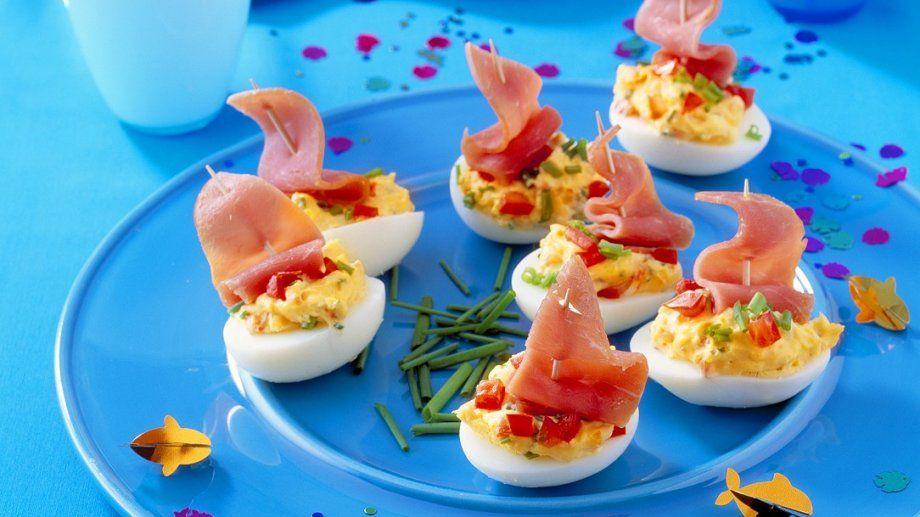 gef llte eier mit schinken rezept rezepte f r kinder pinterest gef llte eier eier und. Black Bedroom Furniture Sets. Home Design Ideas