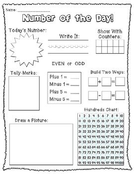 Number of the Day Worksheet  Lower Middle 6 7   TpT furthermore Clroom Treasures  Numeracy   beginning of school   Pinterest also 5th Grade Math Worksheets Pdf   Elmifermetures in addition Number of the Day Bundle   EducationHQ Australia additionally Long Division Worksheets 5th Grade For You  Long Division Worksheets additionally Is a Happy Place  Number of the Day for the Year  FREE Math in addition  in addition  also  furthermore  as well Number of the Day Worksheets by Mrs  Lane   Teachers Pay Teachers likewise  besides Decimal  Fraction and Number of the Day Worksheets   fraction of the additionally Morning Work Place Value Worksheets Second Grade Math Number of the additionally Number of the Day   Numbers 1 10  teacherspayteachers   MATH   Math besides Alge Problems and Worksheets   Algeic Long Division. on number of the day worksheet