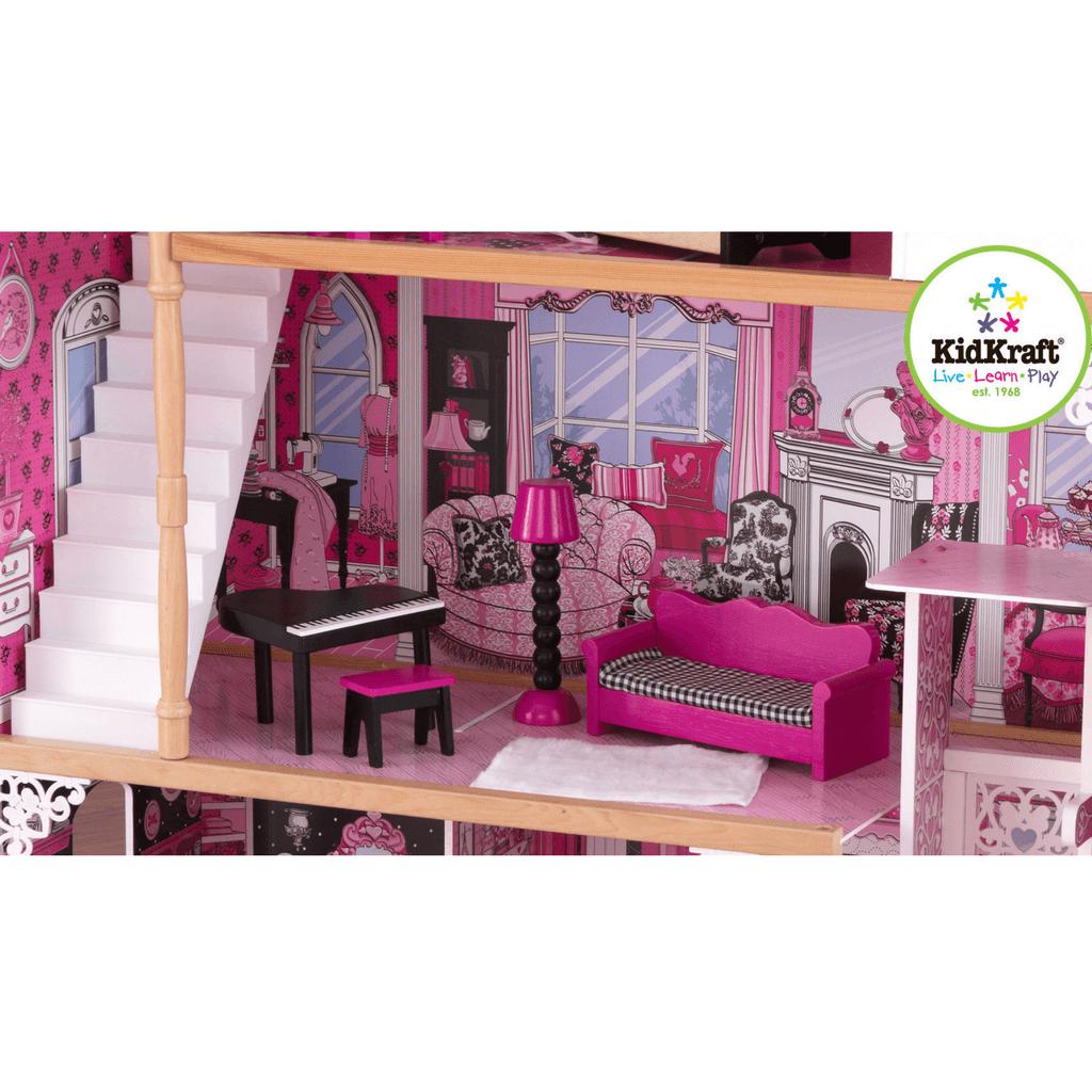 Details about KidKraft Amelia Dollhouse 13pc Furniture