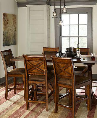 Mandara Counter Height Dining Room Furniture  Furniture Magnificent Dining Room Furnitures Design Decoration