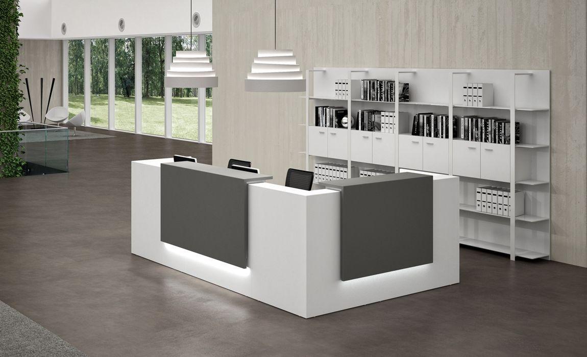 reception desks contemporary and modern office furniture pillows rh pinterest com
