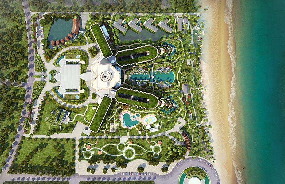 Intercontinental Phu Quoc Resort Design Plan Hotel Landscape
