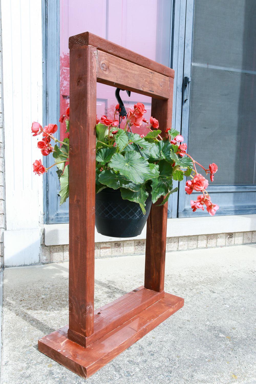 Diy hanging plant stand hanging plants diy hanging