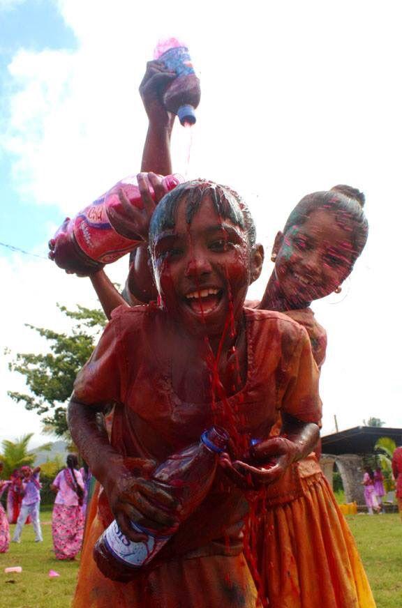 Holi Festival, San Juan, Trinidad
