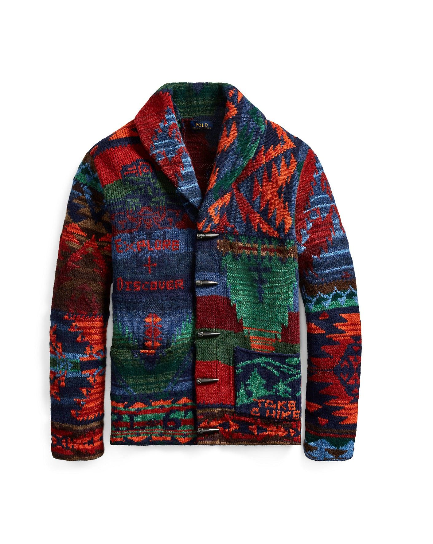 ff8c46862dc5c RALPH LAUREN Polo Ralph Lauren The Iconic Patchwork Cardigan.  ralphlauren   cloth
