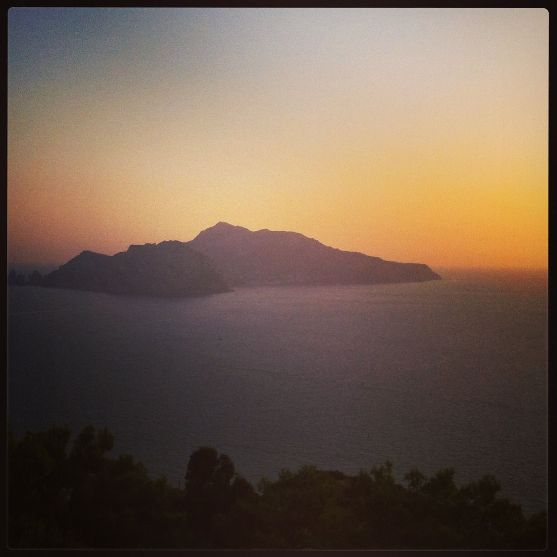 Capri sunset