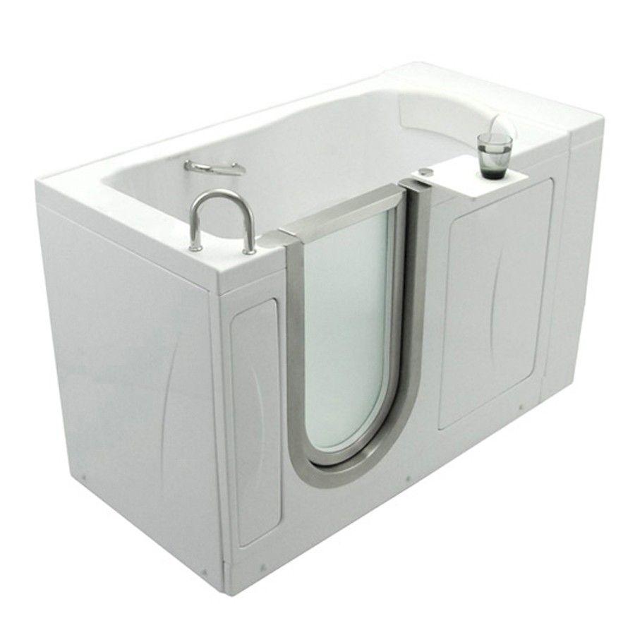 Ella S Bubbles 0310 Elite Acrylic Soaking Walk In Tub