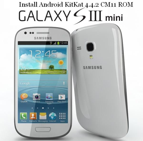 Install Android Kitkat 4 4 2 On Galaxy S3 Mini Via Cm11 Rom With