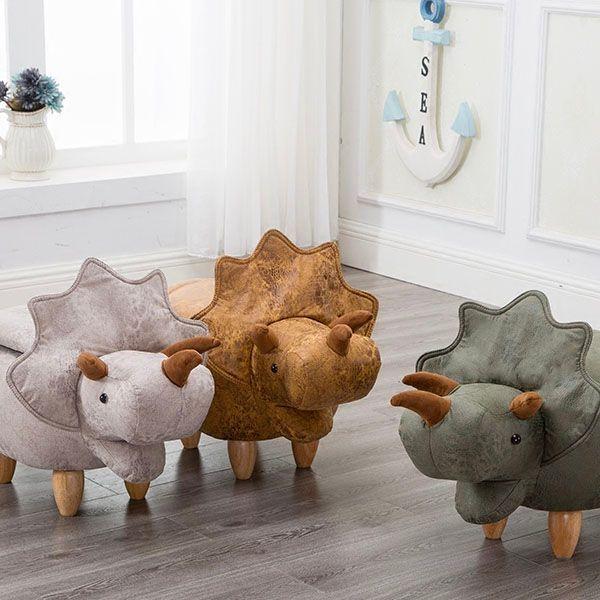 dinosaur storage stool nursery pinterest room playroom and rh pinterest com