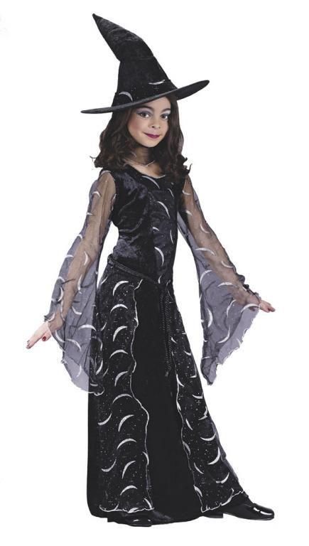 Medium Brand New Celestial Sorcereress Witch Child Costume