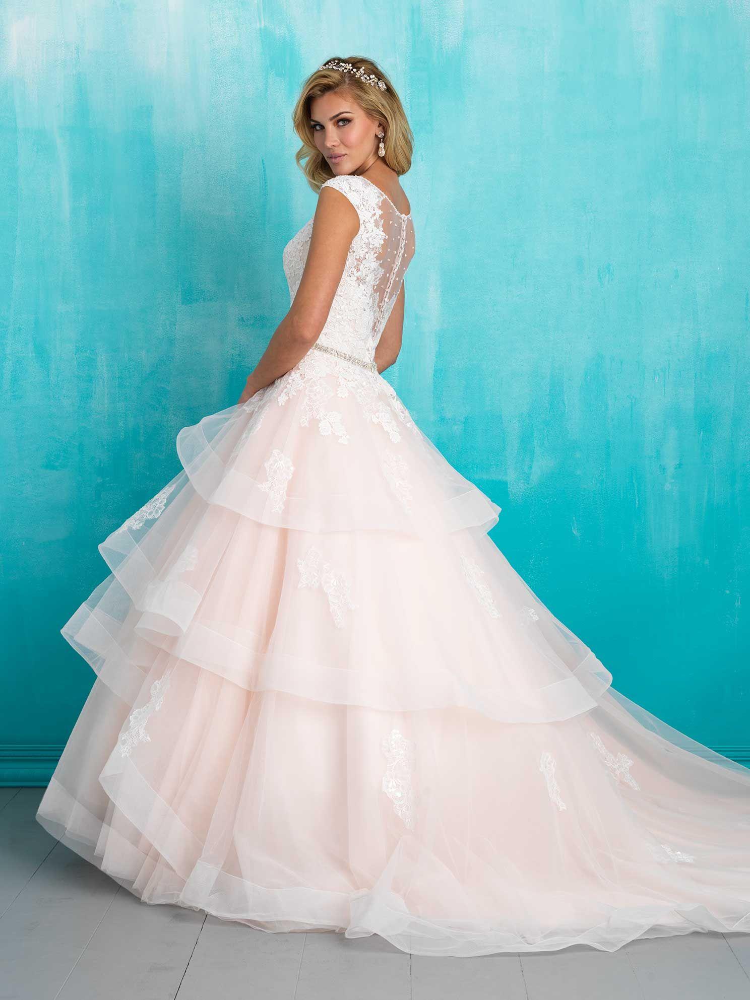 Allure Bridals: Style: 9321 | A L L U R E BRIDALS | Pinterest ...