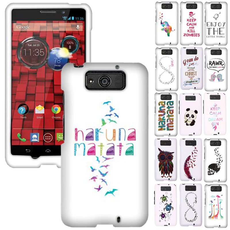For Motorola Droid Mini XT1030 Design SNAP ON Hard Protector Case Cover in Cell Phones & Accessories, Cell Phone Accessories, Cases, Covers & Skins | eBay